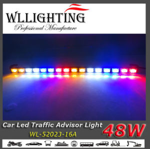 Multicolor LED Warning Light for Vehicles