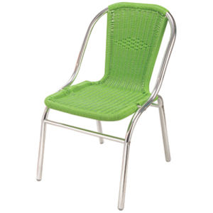 Wholesale Price Aluminum Wicker Chair DC-06206 pictures & photos