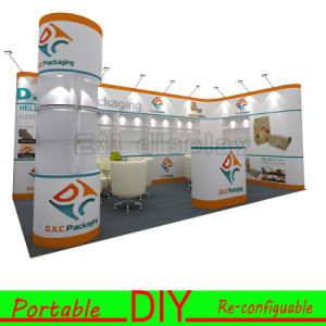Custom Portable Modular Trade Show Exhibition Stall Design 8FT 10FT pictures & photos