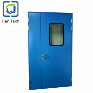Top Quality Glazed Steel Clean Room Doors for Food or Pharmaceutical Factory