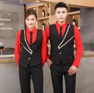 Well-Educated 2019 Food Service Summer Short Sleeve Restaurant Waiter Uniform Cafe Hotel Waitress Uniform Home