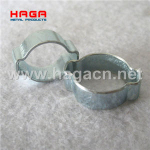 Galvanized Double Ear Hose Clamp Two Ear Clips pictures & photos