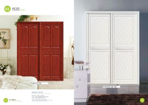 Kitchen Furniture Part PVC Film MDF Kitchen Cabinet Door (yg-015)