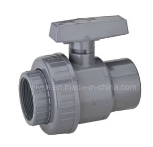Plastic Single Union Ball Valve (Female NPT) pictures & photos