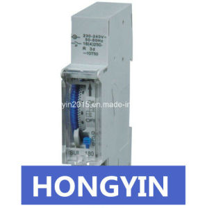 DIN-Rail Type 70hour Storage Time Sul180A Timer Switch pictures & photos