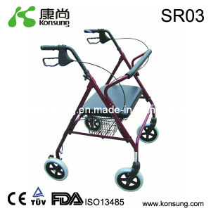 Steel Rollator with Basket (SR03)