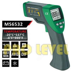 Pfofessional Accurate Non-Contact Infrared Thermometer (MS6532) pictures & photos