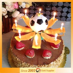 China Soccer Football Music Birthday Candles