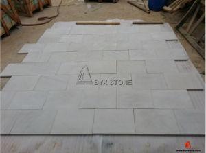 White Sandstone Honed Finished Tiles