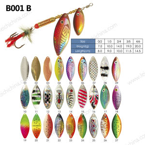 Popular Life Like Fishing Lure Spinner pictures & photos