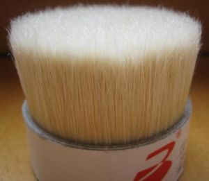 High Quality Bleached White Boiled Bristles 90% Tops for Brush Manufacturing