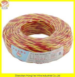 China 60227 Iec42 PVC Insulated Twin Core Cable (RVB Cable