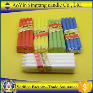 Wholesale 15g Cheap White Stick Candles for Lighting pictures & photos
