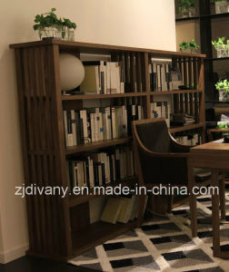 American Style Wooden Home Bookcase (SG-06) pictures & photos