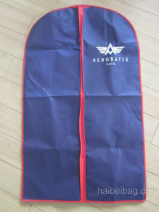 Custom Printed Non Woven Suit Bag, PP Garment Bag (HBGA-49) pictures & photos