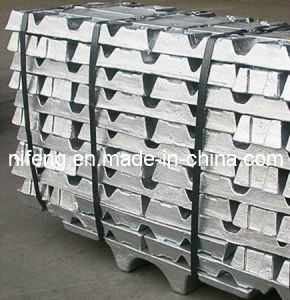 Zinc Ingots Purity 99.99%