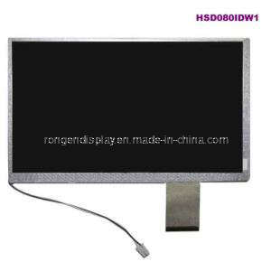 "ODM 8"" Hsd080idw1-A00 TFT LCD Screen 800*480 WVGA LCD Display pictures & photos"