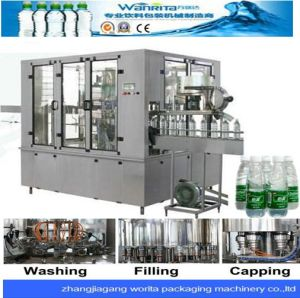 Pet Bottled Spring Water Bottling Machine (WD24-24-8) pictures & photos