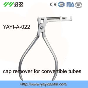 CE Approved Orthodontic Plier Cap Remover for Convertible Tubes (YAYI-022) pictures & photos