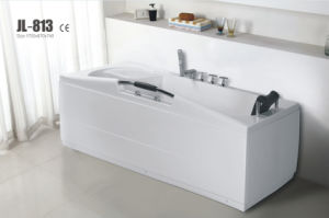 Cupc Approved Acrylic Whirlpool&Jacuzzi Bath Tub (JL813) pictures & photos