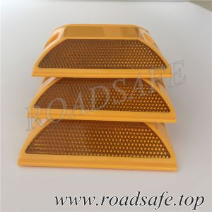 Double Reflective, Yellow, Red Green, White Plastic Road Stud pictures & photos
