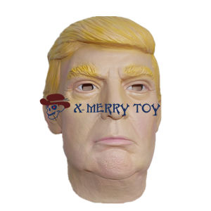China X Merry Donald Trump Mask Latex Celebrity Face