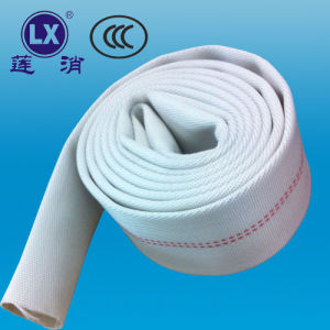 2.5 Inch High Pressure Flexible Fabric Rubber Fire Hose pictures & photos