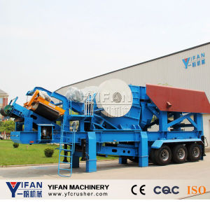 Hot Selling and Low Cost Trailer Mobile Crusher pictures & photos