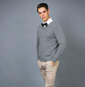 Men′s Fashion Cashmere Sweater 17brpv067 pictures & photos