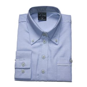 100% Cotton Oxford Men′s L/S Shirt