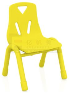 Strong Colorful Plastic Kindergarten Chair for Kids with Metal Leg pictures & photos