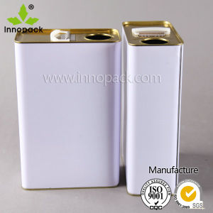 1L-4L Rectangular Close Head Metal Cans pictures & photos