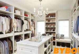 Modern Luxury White Walk In Closet