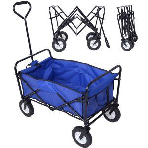 Folding Wagon with PVC Wheels