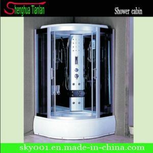 Quadrant Sliding Glass Touch Screen Modular Computerized Steam Shower Wet Room (TL-8848) pictures & photos