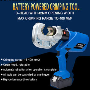 Battery Crimping Tool 16-400mm