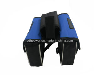 Waterproof Pannier Bike Bicycle Front Tube Bag with Cover Phone Holder (Soft) pictures & photos