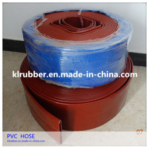 New Type PVC Water Discharge Layflat Hose Flat Irrigation Hose pictures & photos