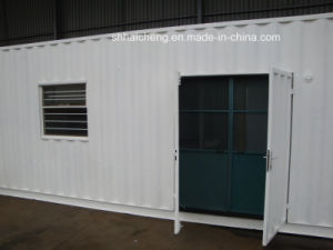 Modified Container Office with One Door and Two Window (shs-mc-office004) pictures & photos