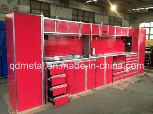 China Wholesaler Largest Combination Kitchen Cabinet with Roller Tool  Cabinet