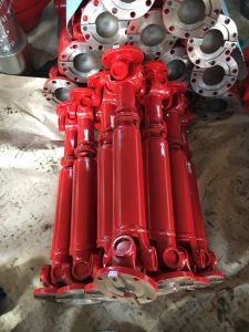 Customize Double Flange Universal Joint Cardan Shaft