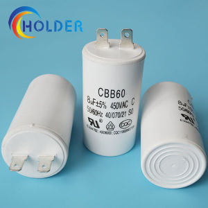 Metallized Polypropylene Film AC Motor Capacitor (CBB60 805j/450V) Starting Capacitor pictures & photos