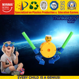 Plastic DIY Construction Open-End Building Block Toy for Kids pictures & photos