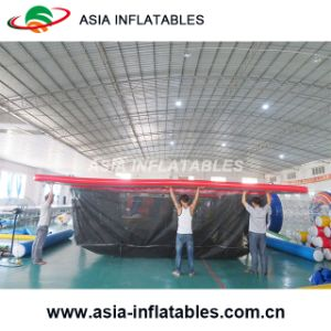 Portable Swimming Pool with Protective Anti Jellyfish Netting Enclosure, Box Jellyfish Protection Net, Nettle Net Boat Pools pictures & photos