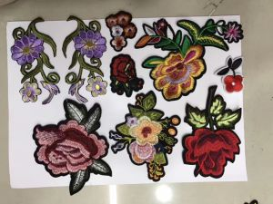 Wholesale a Variety of Design of Flower Patches, Embroidery Flower Patch pictures & photos