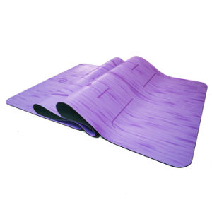 New Arrival Popular Best Anti-Slip PU Leather Rubber Yoga Mat