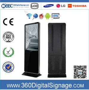 47 Inch HD Indoor Floor Type Digital Media Signage with Network 3G/WiFi for Gas Station (BBC-V47P-D-450-S-SA)