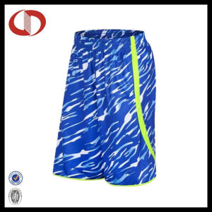 100% Polyester New Pattern Camo Basketball Shorts for Man pictures & photos