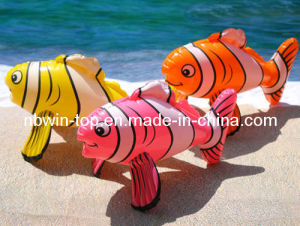 TOY-Inflatable Striped Fish (WA11608)