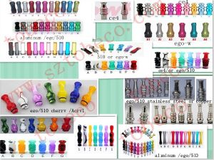 E-Cigarettes Drip Tips